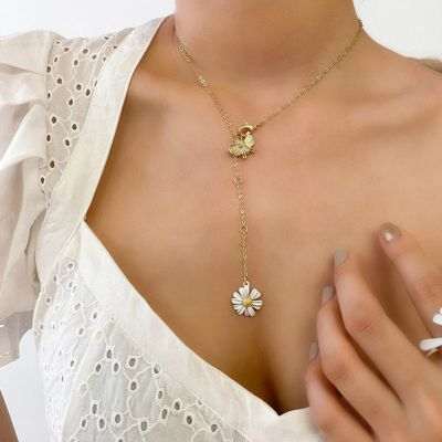 Bee&Daisy Flower Necklace