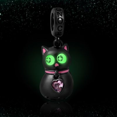 Luminous Black Cat