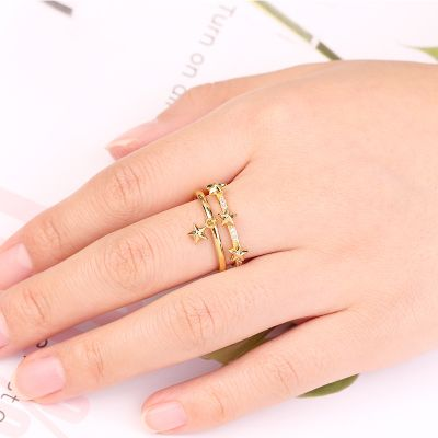 Star Open Ring