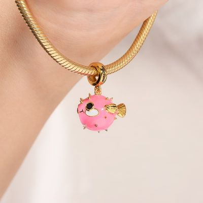 Pufferfish Charm