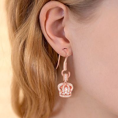 Rose Earring Fish Hooks