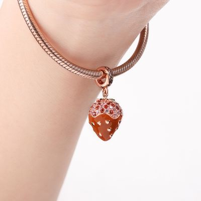Strawberry Chocolate Earl Charm