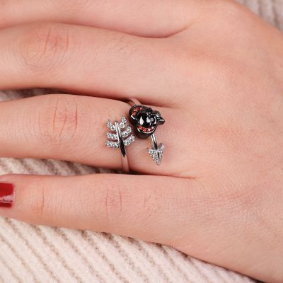 Skull Arrow Ring