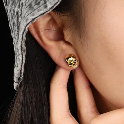 Mexican Skull Studs