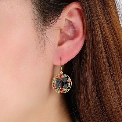 Jack & Sally Dangle Earrings