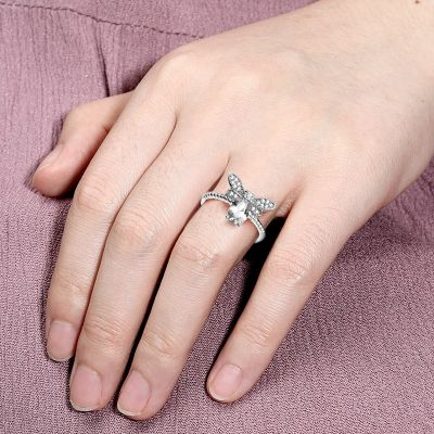 Bee Open Statement Ring
