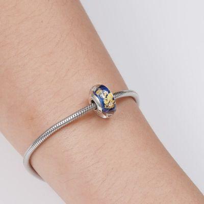 Dark Bule Murano Glass Charm