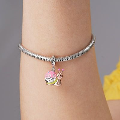 Pinky Snail Pendant