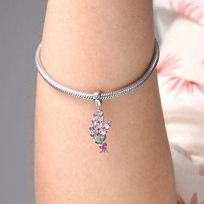 Lavender Flower Pendant