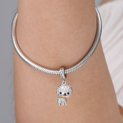 Bichon Puppy Pendant