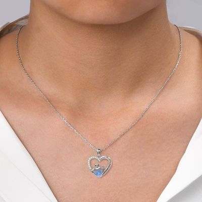 Heart-shaped Turtle Necklace