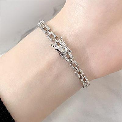 Elegant Tennis Bracelet