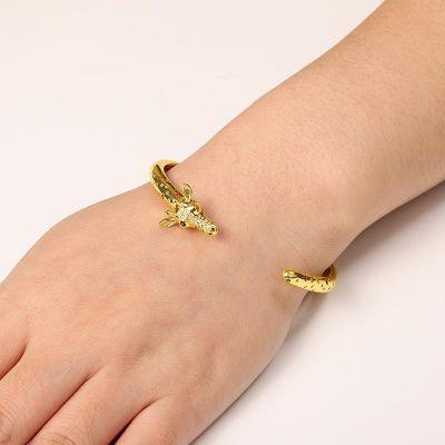 Giraffe Open Bracelet