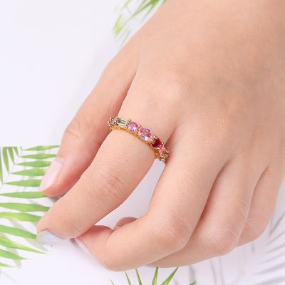 Multi-Color Crystal Band