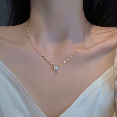 Petite Crystal Zirconia Necklace