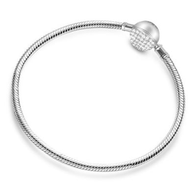 Crystal Round Shaped Bracelet