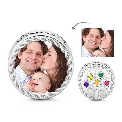 Family Tree Photo Charm