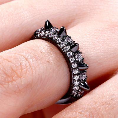 Mohawk Style Ring