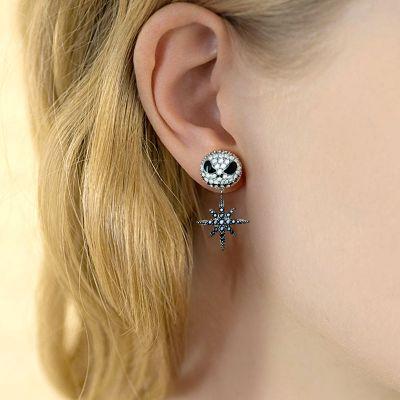 Jack Skull Star Earrings
