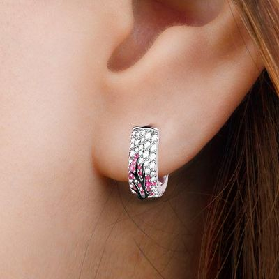 Plum Tree Earrings
