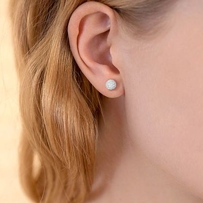 Silver Stud Earring