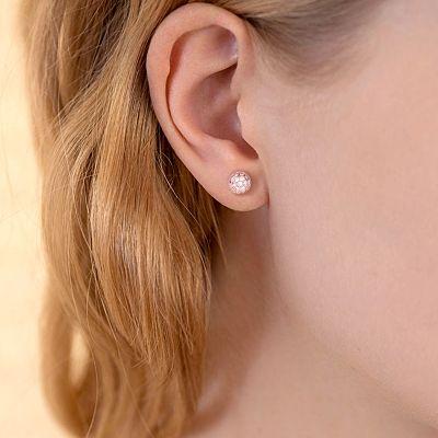 Rose Gold Stud Earring