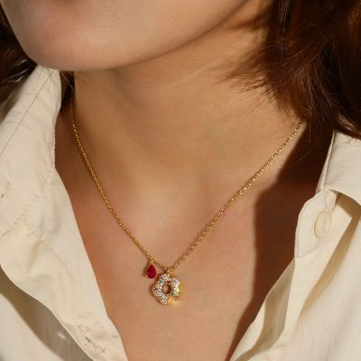 Donuts Necklace