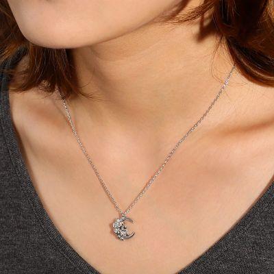 Moon Skull Necklace
