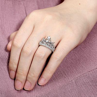 Tiara Crown Ring