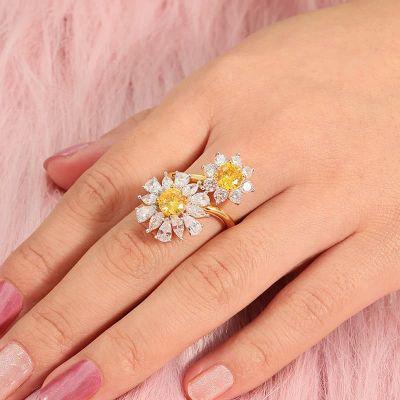Daisy Open Ring