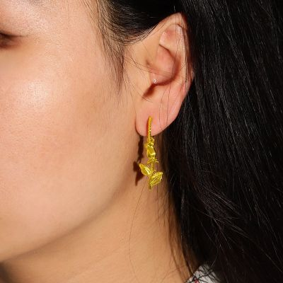 Bell flower Drop Earrings