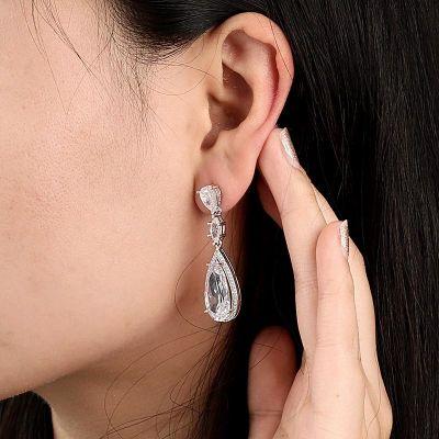 Crystal Palace Drop Earrings