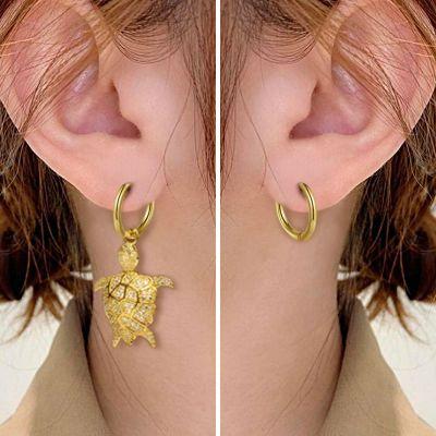 Turtle Dangle Earrings