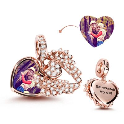 Angel'Wing Photo Charm
