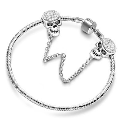 Skull Safety Chain