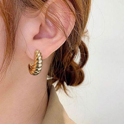 Croissant Hoop Earrings