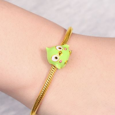Little Green Bird Charm