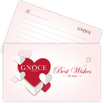 Gnoce Greeting Message Card