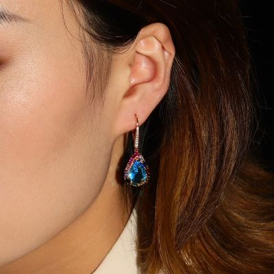 Colorful Sea Drop Earrings