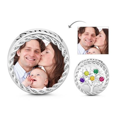 Family Tree Photo Charm