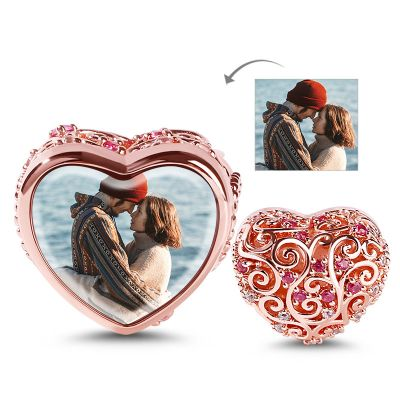Heart Hollow Photo Charm