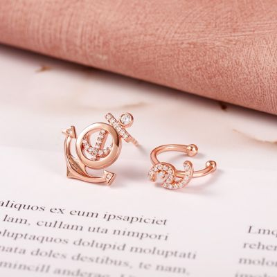 Anchor Cuff Earrings