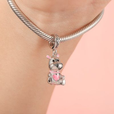 Cute Hippo Pendant