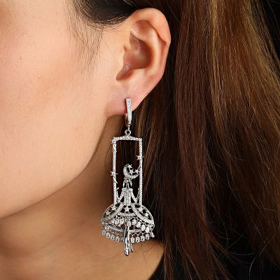 Fairies Diamond Earrings