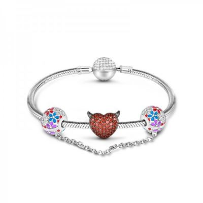 Devil Lover Charms Bracelet