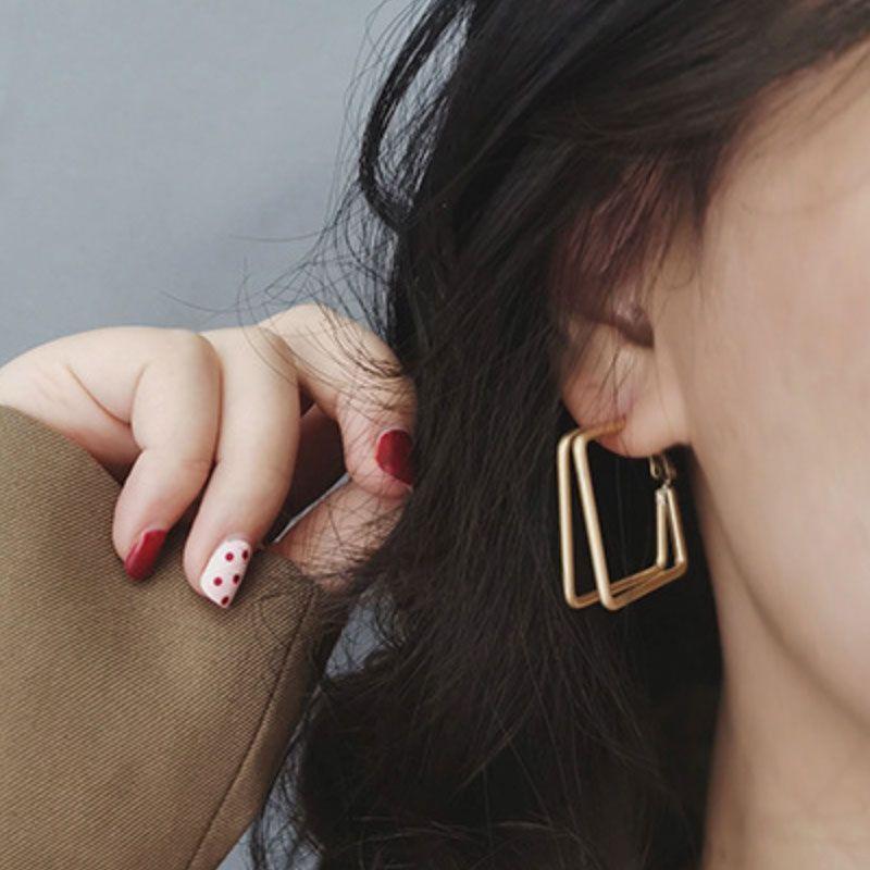 Brass Spike Earrings \u2022 Pure brass \u2022 Elegant Punk Jewelry